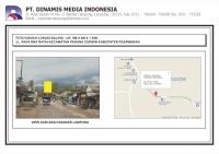 Baliho 6x4x1 Jl. Raya Way Ratai Kec. Padang Cermin Pesawaran