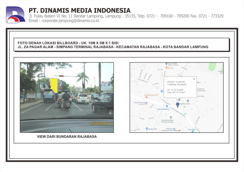 FDL BB 10mx5m Jl. ZA Pagar Alam - Simp. Terminal Rajabasa