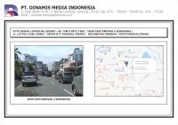 FDL BB 10mx5mx2sisi Jl. Letkol Rusli - Depan BTC Pangkalpinang (view Semabung)