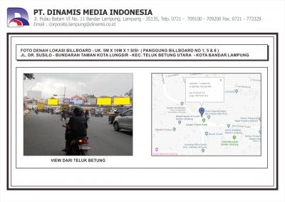 FDL BB 5mx10m - Jl. DR. Susilo - Bundaran Taman Kota Lungsir (no156)