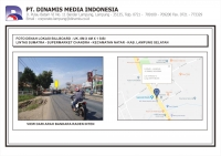 FDL BB 8mx4m Median Jl. Lintas Sumatra - Supermarket Chandra Natar