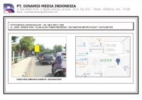 FDL Baliho 6mx4m Jl. Jend. Ahmad Yani - Alunalun Taman Merdeka Kota Metro