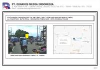 FDL Baliho 6mx4mx2sisi Jl. Pasar Pagi - Batin Tikal - Taman Asri (vf. RS Timah)
